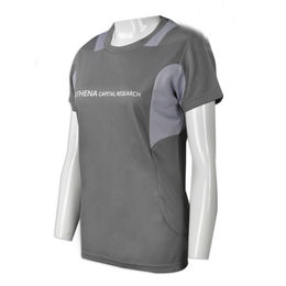 Women's round-neck T-shirts from Hong Kong SAR