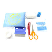 Survival Aid Kit Set with Insect Remover. Packaged in Zipped Pouch