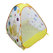 Children's Pop-Up Play Tent Made of 190T Polyester Fabric.