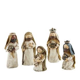 New 10cm Polystone Nativity Statues Manufacturer