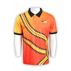 Men's short-sleeved polo shirts from Hong Kong SAR