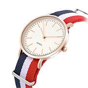 Sport lady Japan movt Quartz nylon Interchangeable strap Watches