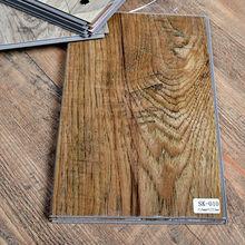 China PVC vinyl click plank flooring tiles