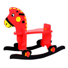 Baby's wooden rocking horse from China (mainland)