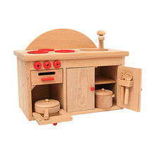 Wooden kitchen stove toy from China (mainland)