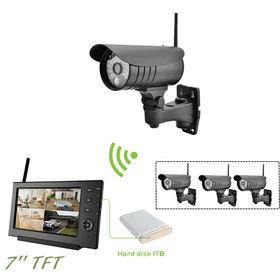 sistema de vigilancia casero remoto al aire libre 2.4Ghz