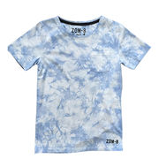 China Tie Dye Men's Round-neck T-shirt