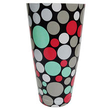 India Bubble Design Pattern Bar Shaker, 28oz