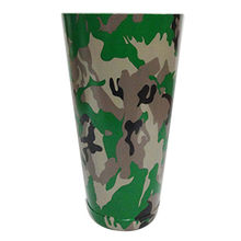 India Camo Pattern Bar Shaker, 28oz