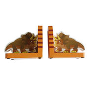 Wooden bookends from China (mainland)