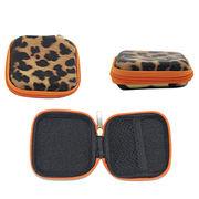 Factory custom EVA girls coin purses mini leopard from China (mainland)