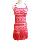 Babydolls made of lace, available size S, M, L, XL, accept customized