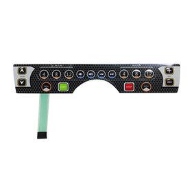 Membrane switch keyboard from China (mainland)