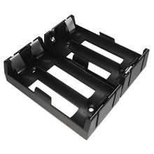 Battery holder for 2 x 18650 cells, designed for cells in series or parallel, DIP type from Comfortable Electronic