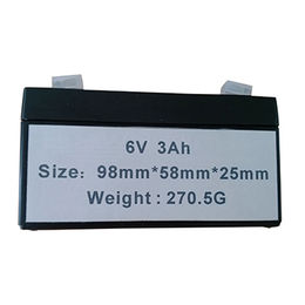 6V 3Ah sealed lead-acid battery from China (mainland)