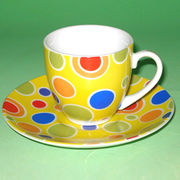 Tea cup & saucer from China (mainland)