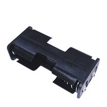 Battery Holder for 2 x AA Cells, PP Resin in Black Color from Comfortable Electronic