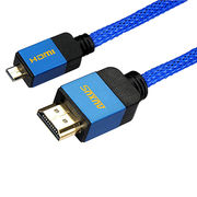 China High Speed Micro HDMI to HDMI Cable Type A-D (NOT Micro-USB) with Ethernet