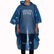 Disposable Plastic Pullover Raincoat from China (mainland)