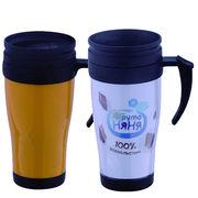 China 16 OZ plastic office mug