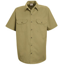 Men's Utility Uniform work shirt from China (mainland)