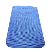 Anti-slip Bath, Mat Made of Soft PVC Foam Fabric, Overall Length of 69cm/Width of 40cm