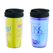 Plastic double wall paper coffee cups from China (mainland)