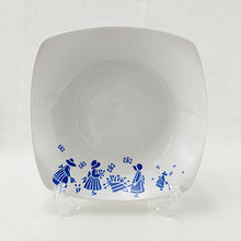 China Square soup plate