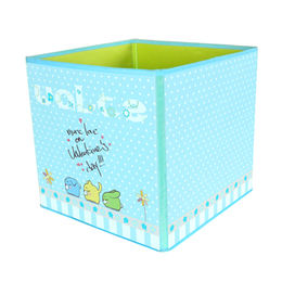 Fabric foldable living toy storage box from China (mainland)