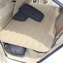 comfortable inflatable car bed PVC & flocked from China (mainland)
