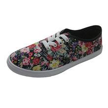 Comfortable lace-up women ladies' flat shoes from Xiamen Wayabloom Industry Co., Ltd