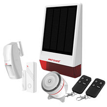 2016 new Gsm Waterproof Solar-Powered Security Alarm Spot Intruder system with CE ROHS FCC ISO9001 from Shenzhen Chitongda Electronic Co. Ltd