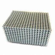 Neo Cube Magnet, Available in Various Plating, Customized Sizes are Welcome from Jyun Magnetism Group Limited