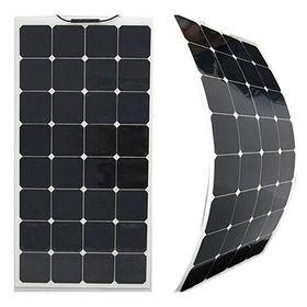 China 210W bendable semi flexible solar panel for car, golf cart, marine