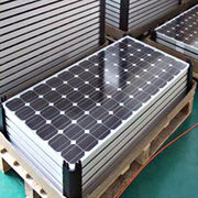 solar panels from China (mainland)