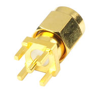 SMA RF Coaxial Connector PLUG from Taiwan