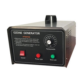 Ozone generator, suitable to be used in the relatively dry environment.