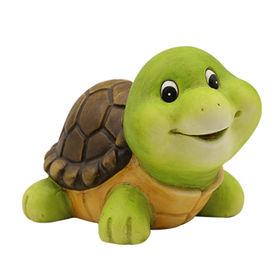 Newest Decorative Ceramic Cute Baby Tortoise Figur Manufacturer