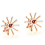 Gold-plated Stainless Steel Stud Earring from China (mainland)