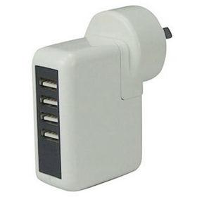 China 4 port USB travel wall charger