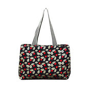 Canvas tote bag with beautiful design handles