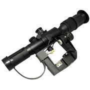 Airsoft Dragunov 4x26 PSO-1 SVD Scope Mount Rifle Sniper Replica AK Illuminated