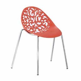 China New design colorful PP plastic chairs for living room