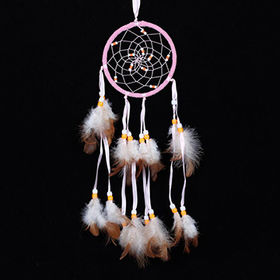 China Dream catcher for wall hanging, various designs are available