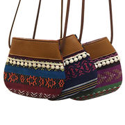 Ethnic crossbody bag from China (mainland)