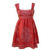 100% silk dress from China (mainland)