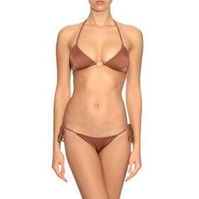 Satin Look Fabric Women Bikini Swimwear from China (mainland)