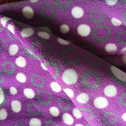 Printed coral fleece fabric from China (mainland)