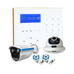 Smart DVR Alarm Combo System with iOS Android App for Home Use