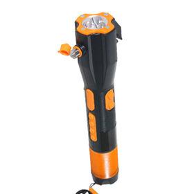 Car Emergency Hammer with Crank Dynamo Light Radio from Shenzhen Xinlingnan Electronic Technology Co. Ltd
